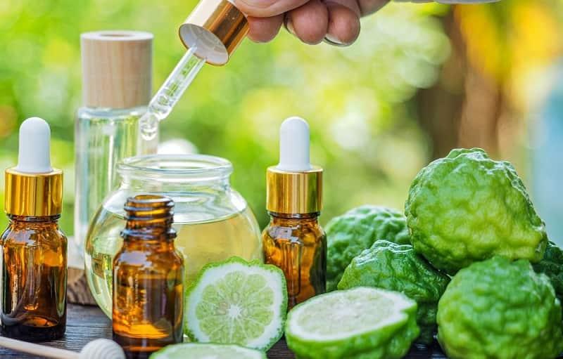 lợi ích tinh dầu chanh sần