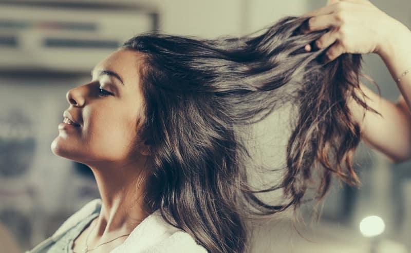 chăm sóc tóc với dầu argan