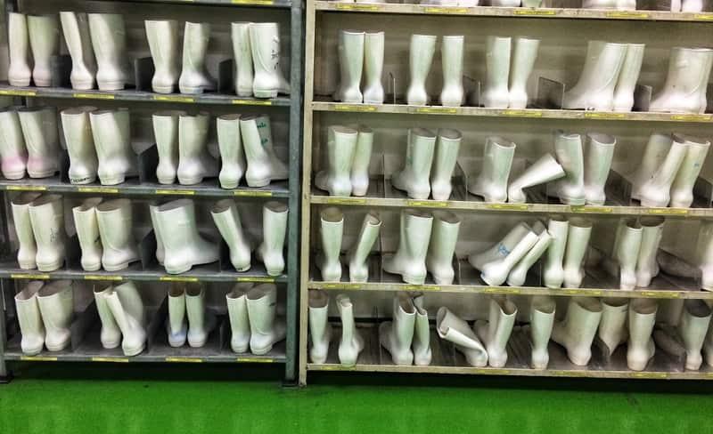 nhà máy snn khu để giày dép