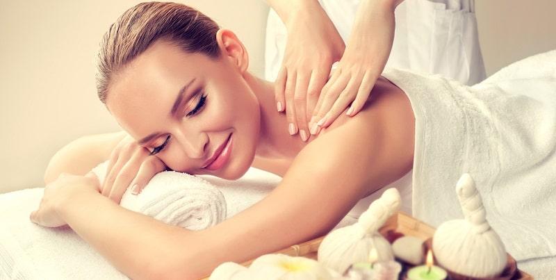 massage giúp thư giãn