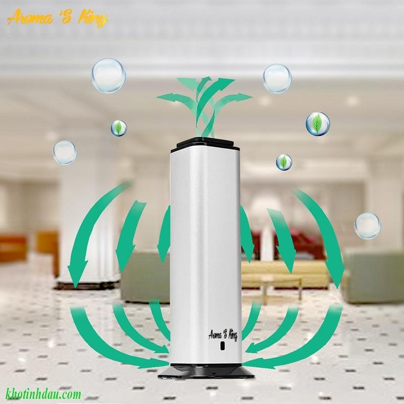 máy khuếch tán tinh dầu công nghiệp aroma s king 102