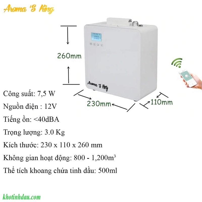 máy khuếch tán tinh dầu công suất lớn a200