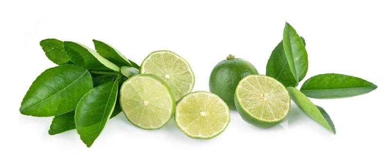 quả và lá chanh được sử dụng phổ biến